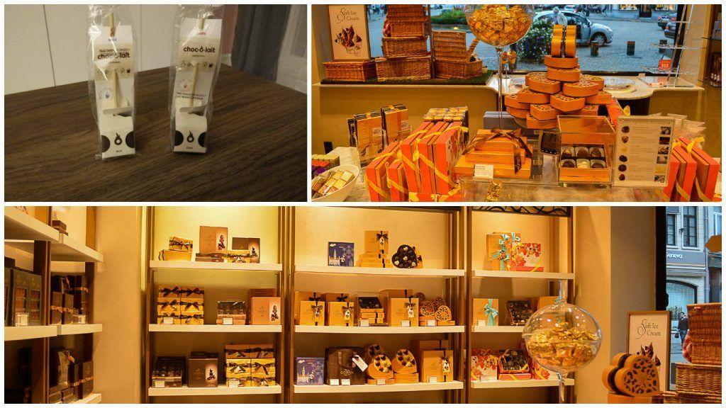 Chocolate belga en Bruselas - Los viajes de Margalliver